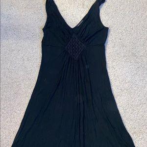 Banana Republic Black Dress Size Medium